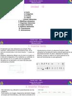 Unidad 12. Editar Diapositivas