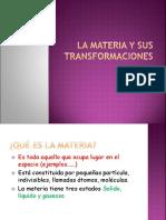 La Materia y Sus Transformaciones 2