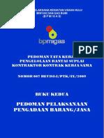 Part of Peraturan Bpmigas - Perihal Ketentuan Tkdn
