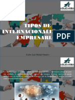 Carlos Luis Michel Fumero - Tipos de Internacionalización Empresarial