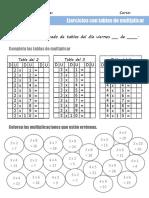Multiplicaciones