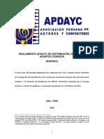 procedimiento apdayc