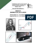 Solucion de Discusión n 2 Dinámica de Los Fluidos.