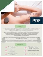 Massagem de Pedras Quentes o Guia Simples e Pratico