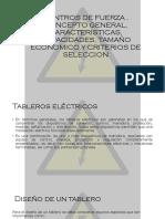 Centros de Fuerza , Concepto General, Caracteristicas