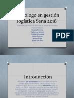Tecnólogo en Gestión Logística Sena 2018 Actividad 126