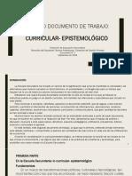 Doc 2 - Curricular Epistemológico