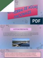 Ley Federal de Aguas Nacionales Expo