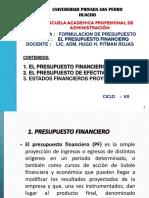 Tema Nº 11 - Presupuestos Financieros