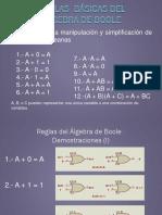 Reglas  Del Algebra Boole