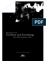 Effectiveness of the Furniture and Furnishing