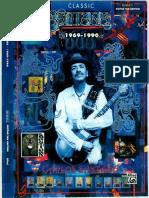 Carlos Santana Classic Santana 1969 1990
