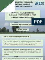 MANEJO FINANCIERO DE UNA FINCA