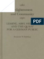 Redekop, B (1999)_Enlightenment and Community. Lessing, Abbt, Herder, And the Quest for a German Public