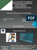 Presentación de Análisis y Evaluación Ocupacional