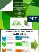 Presentacion Caracterización de la Cultura Ambiental de los estudiantes de abejorral antioquia.