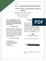 Laboratorio-Parametros Primarios y Segundarios_FredyRojasJeffersonAngelicaBenavides