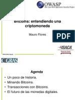 Cigras 2013 - Bitcoins - Entendiendo Una Criptomoneda Mauro Flores