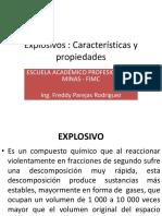 Explosivos. clase