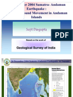 Coseismic & Post Seismic Changes_Andaman is._revised Jan 2009