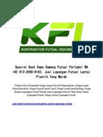 Spesial Buat Kamu Gawang Futsal Portabel WA +62 813-2000-8163, Jual Lapangan Futsal Lantai Plastik Yang Murah