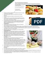 Técnicas Regionales y Comunitarias en La Preparación de Alimentos (Autoguardado)