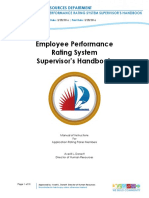 Employee Performance Ratings