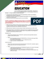 SONA2009 Education