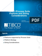 TIBCO iProcess Suite Sizing