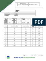 Dyno Calibration Report D18268