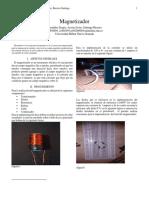 Informe  magnetizador