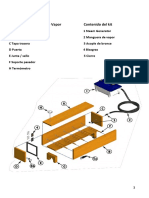 Caja de Vapor. Manual de construcción.