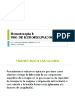 Hemoterapia I