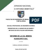Informe-Huancapeti