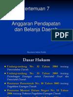 Anggaran Pendapatan Dan Belanja Daerah