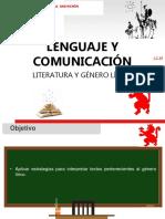 Clase 1 - Literatura y Género Lírico.