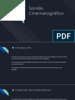 Sonido Cinematográfico