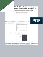 Cara Membuat Desain Cover Buku Dengan CorelDRAW X4 - Kumpulan Tutorial