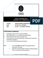JAN 11  exam paper