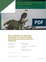 Atlas Regional de Impactos Derivados de Las Actividades Petroleras en Coatzacoalcos Veracruz