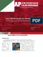 1. Definicion de La Obligacion Uap 2018-1
