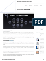 BAKWAAS - Patent Valuation _ Valuation of Patent _ Intellectual Property