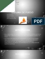 Experimento_Espuma de Fuego