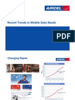 Aircel Mobile Trends