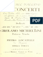 Concertos for Violin Locatelli Op3 No 12