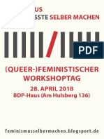 Feministischer Workshoptag Flyer a5