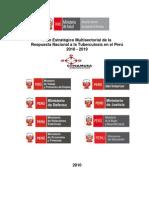 Plan Estratégico Multisectorial de la Respuesta Nacional a la Tuberculosis en el Perú 2010 - 2019