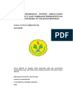 Proposal Analisis Sistem Sap (Ditolak)