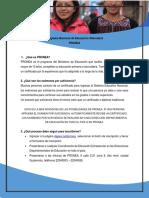Información Sobre PRONEA