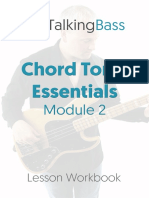 Chord Tone Essentials Module 2 Workbook